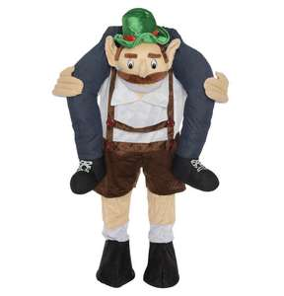 *Galeria Kaufhof* Carry Me Kostüm (Huckepack-Kostüm) Mann auf Bayer