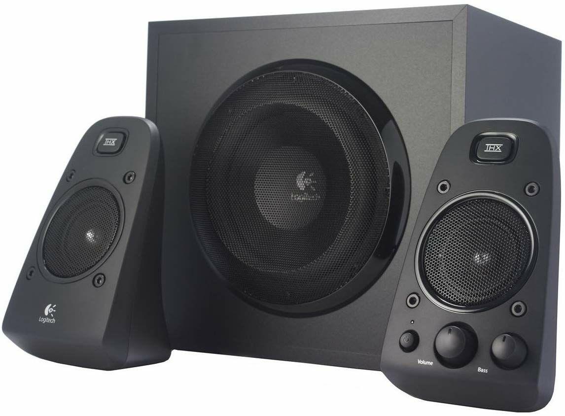 Logitech Z623 2.1 Lautsprechersystem - THX Stereo, 200W RMS mit Subwoofer (Amazon.fr)