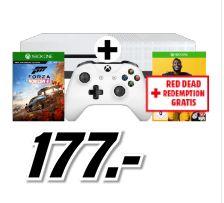 [Mediamarkt Österreich] Microsoft Xbox One S 1TB + Forza Horizon 4 +Madden NFL 19 + Red Dead Redemption für 181,99€