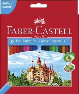 3x Faber-Castell Eco Farbstifte 48 Stück [eBay]