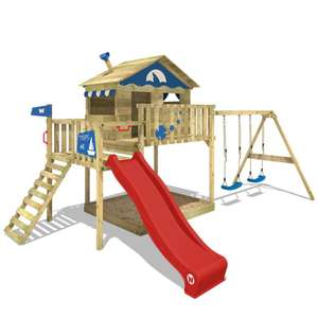 Spielturm WICKEY Smart Coast Kletterturm Stelzenhaus
