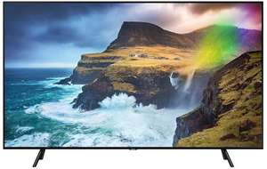 Samsung GQ55Q70RGT - 2019er 4K TV mit QLED FALD, Direct Full Array 4x, Quantum HDR 1000, Real Game Changer, Wide Viewing Angle