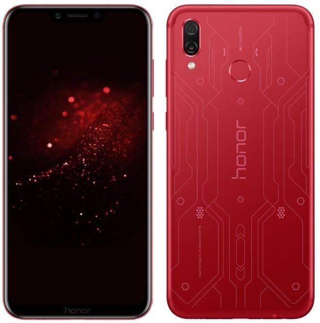 Honor Play Player Edition RED Dual-SIM Android 8.1 Smartphone mit Dual-Kamera u. Face Unlock rot für 222,62€ inkl. Versandkosten