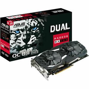 ASUS Radeon RX 580 Dual 8GB OC (90YV0AQ1-M0NA00)