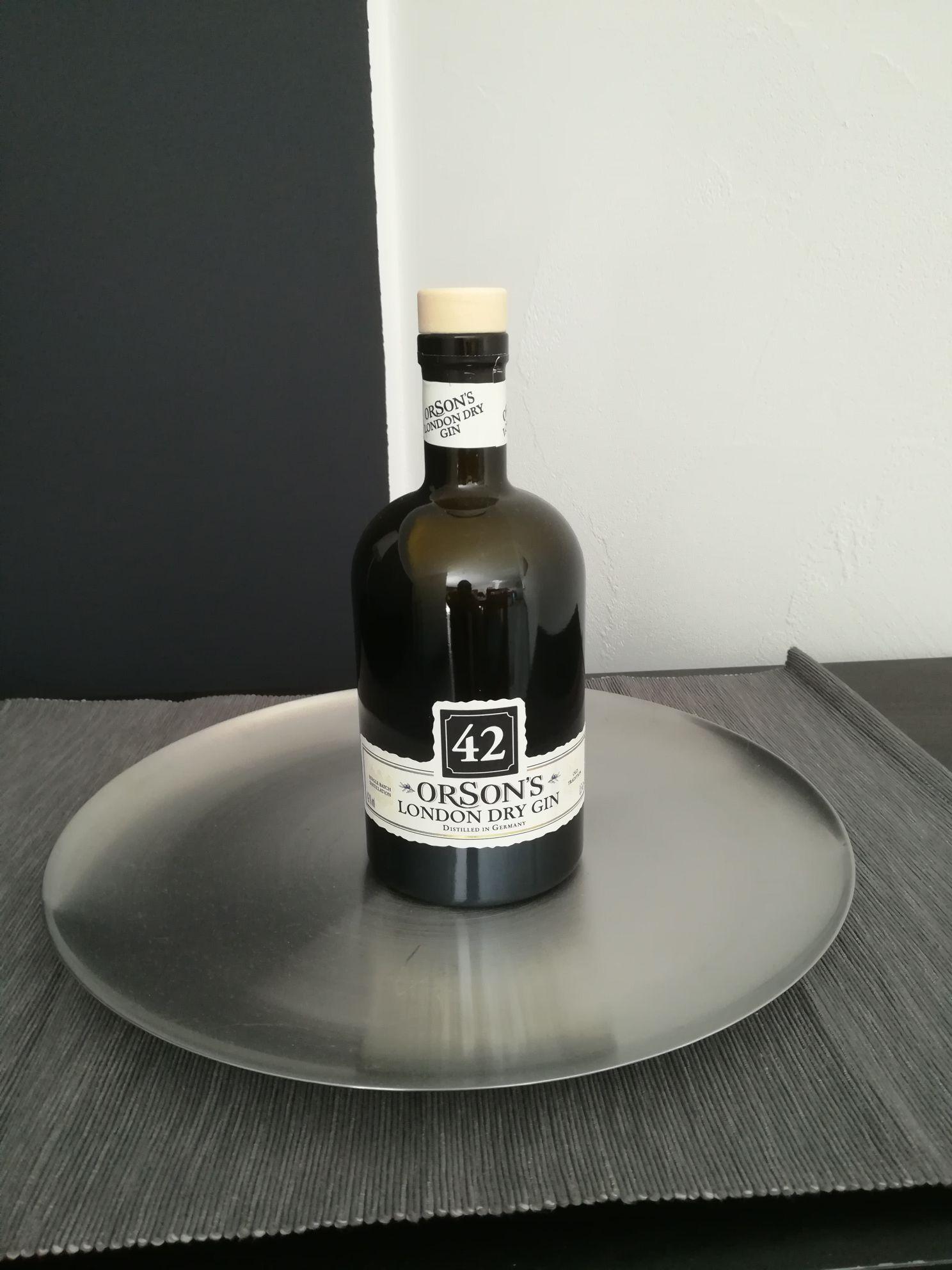 [Penny]  Orson's London Dry Gin Online,  lokal Baden-Württemberg