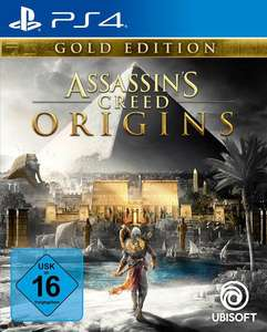 Assassin's Creed: Origins Gold Edition (PS4) für für 20€ bzw. 17€ (Müller)