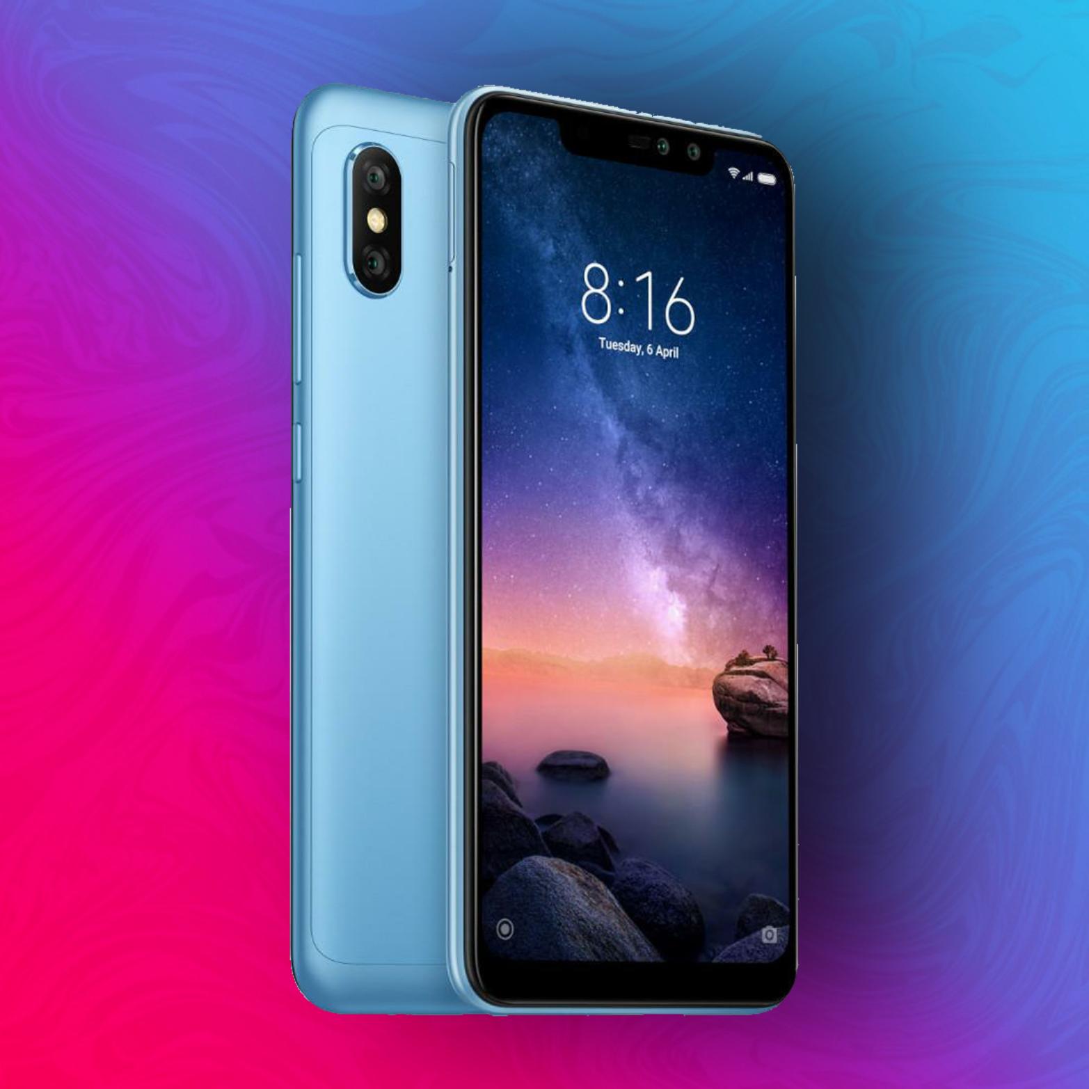 Xiaomi Redmi Note 6 Pro 32/3GB - Snapdragon 636 - 4000mAh Akku - MicroSD-Slot | Global Version