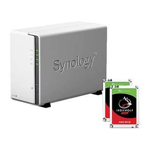 Synology DS218J + 2x 4TB Seagate Ironwolf