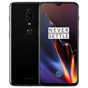 "Oneplus 6T 6.4"" 4G LTE Smartphone Snapdragon 845 6GB 128GB 16.0MP+20.0MP NFC"