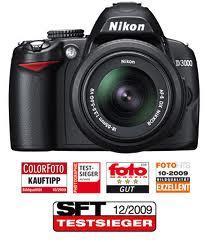 [Offline] Real - Nikon D3000 komplett mit Objektiv 18 - 55 mm VR für 297 Euro
