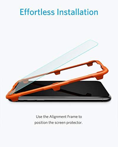 [Prime] [2 Stück] iPhone XS / iPhone X Panzerglas Schutzfolie Anker KARAPAX GlassGuard