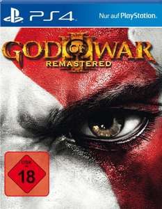 God of War III Remastered (PS4) für 15,99€ (Real)