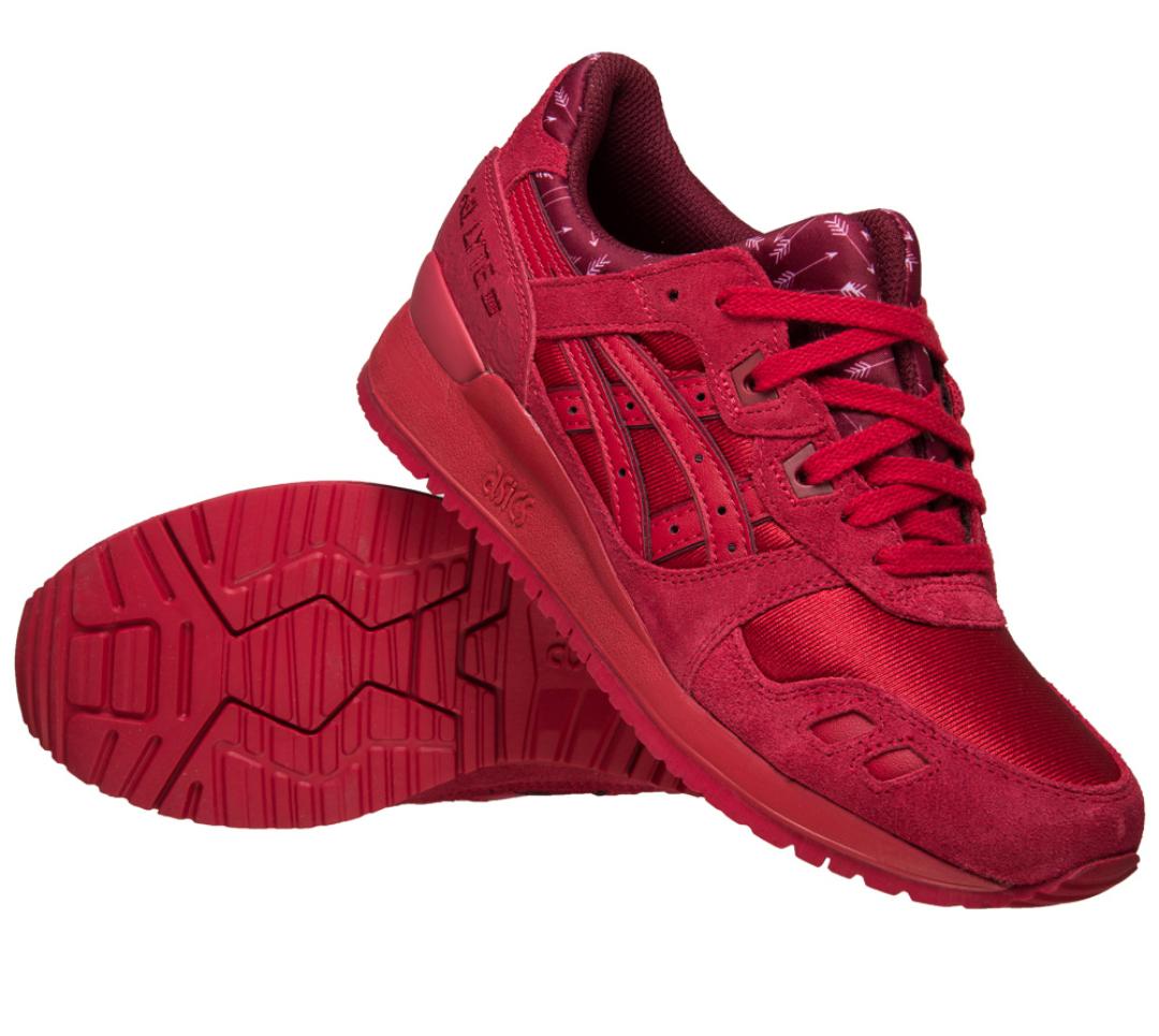 Asics Tiger Gel Lyte III Sneaker Red [sportspar]