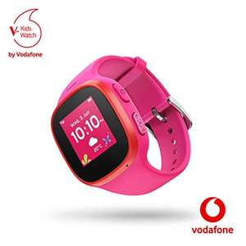 V-Kids Watch (rosa) - Smartwatch mit GPS-Tracker und SOS-Alarmknopf (Amazon)
