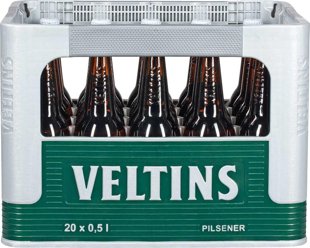 (Kaufland)  VELTINS Pilsener 10,-€ (1 Kiste 20 x 0,5l) _ab Mo. 29.04.19