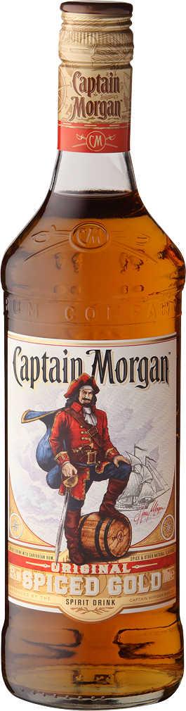 (Kaufland)  CAPTAIN MORGAN Original Spiced Gold (0,7-l-Fl.) _ab Mo. 29.04.19