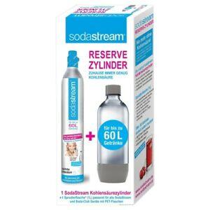 [ebay] 3für2: 3 Soda Stream Zylinder für insgesamt 59,98 (inkl. 3 OutdoorPlastikflaschen ;-) ) für spätere Wiederbefüllung bei z.B. SodaBär