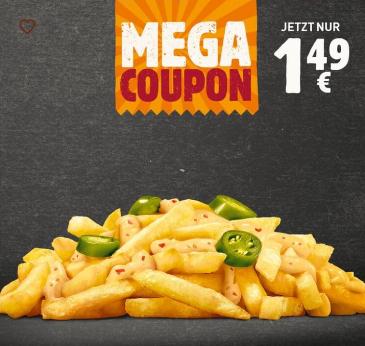 Chilli Cheese Fries für 1,49€ (Burger King)
