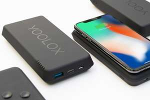 NBB Blitzdeals:  Wireless Powerbank YOOLOX 10k mit Qi (10.000 mAh, Quick Charge 3.0 und Power Delivery 3.0, USB-C)