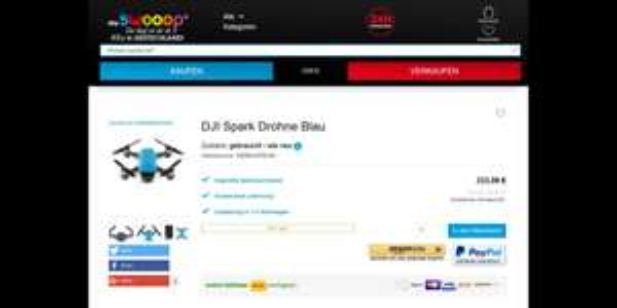 DJI Spark Drohne | div. Farben | gebraucht - wie neu
