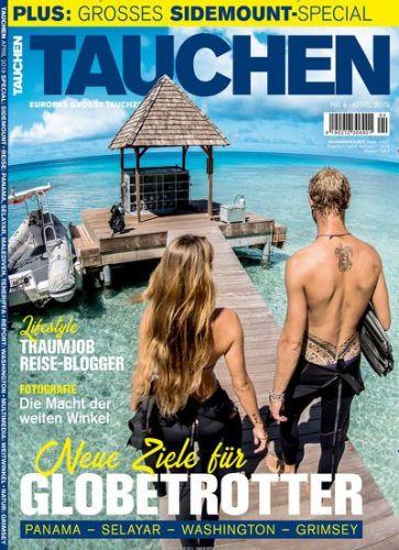 Tauchen Magazin Abo (12 Ausgaben) für 86,40 € mit 80 € Amazon-Gutschein oder 75 € Verrechnungsscheck