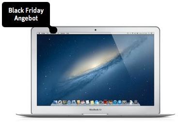 "Macbook Air 13"" (aktuelles Modell, 1,8 GHz i5, 128GB SSD, USB 3) über 18% Rabatt"