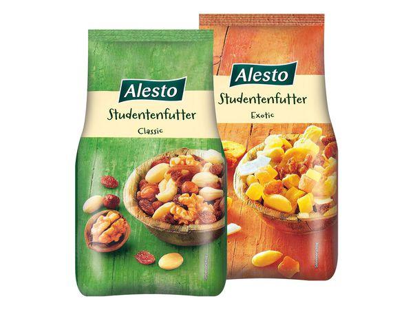 Alesto Studentenfutter Classic oder Exotic je 200g für 1,19€