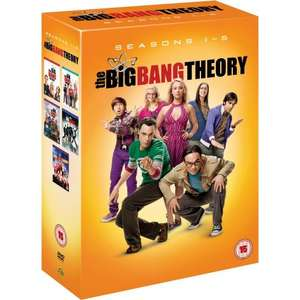 [DVD] The Big Bang Theory - Complete Season 1-5 @ Amazon.co.uk für ca. 39,65€