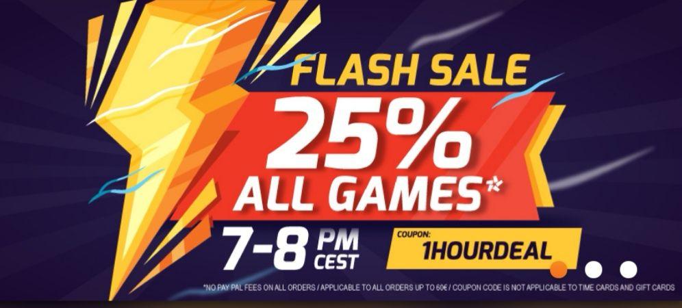 (Gamivo) Flash Sale heute zwischen 19:00 - 20:00 Uhr