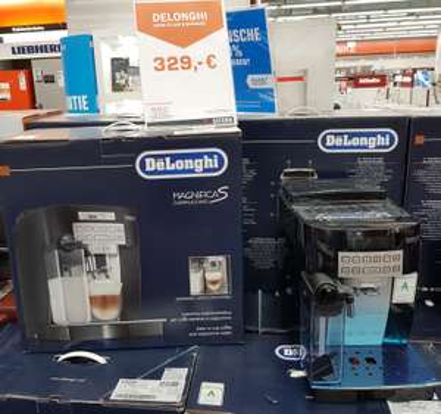 Kaffeevollautomat - De'Longhi ECAM 22.360.B Magnifica S