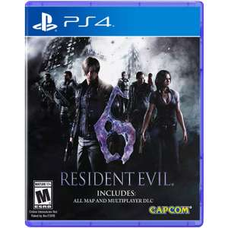 Resident Evil 6 (PS4) [PEGI]