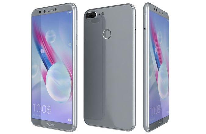 "Honor 9 Lite - 5,65"" Dual-SIM Smartphone (Android 8, NFC, 3GB RAM, 32GB, 3000mAh) Glacier grey"
