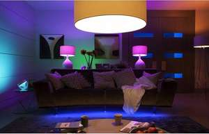 Philips Hue White Ambiance Starter Set Light stripe Dimmschalter @ Screwfix