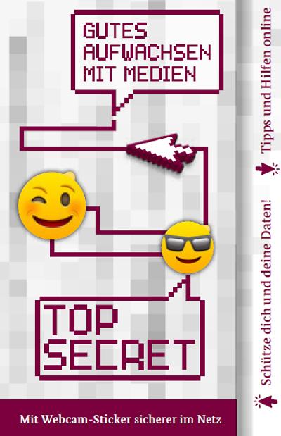 Webcam-Sticker kostenlos [BMFSFJ]