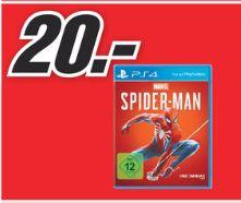 [Regional Mediamarkt Hückelhoven/Aachen] Marvel's Spider-Man - PlayStation 4 für 20,-€