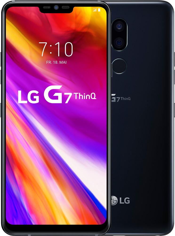 "LG G7 ThinQ  6.1"" Smartphone (Android 8, 64GB, 4GB RAM, NFC, aptX HD, IP68, 3000mAh) [Netzanbieter Gerät]"