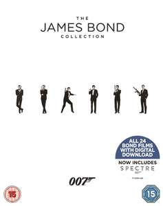 [Amazon UK] James Bond Collection - Teil 1 - 24 - Bluray & meistens deutscher Ton