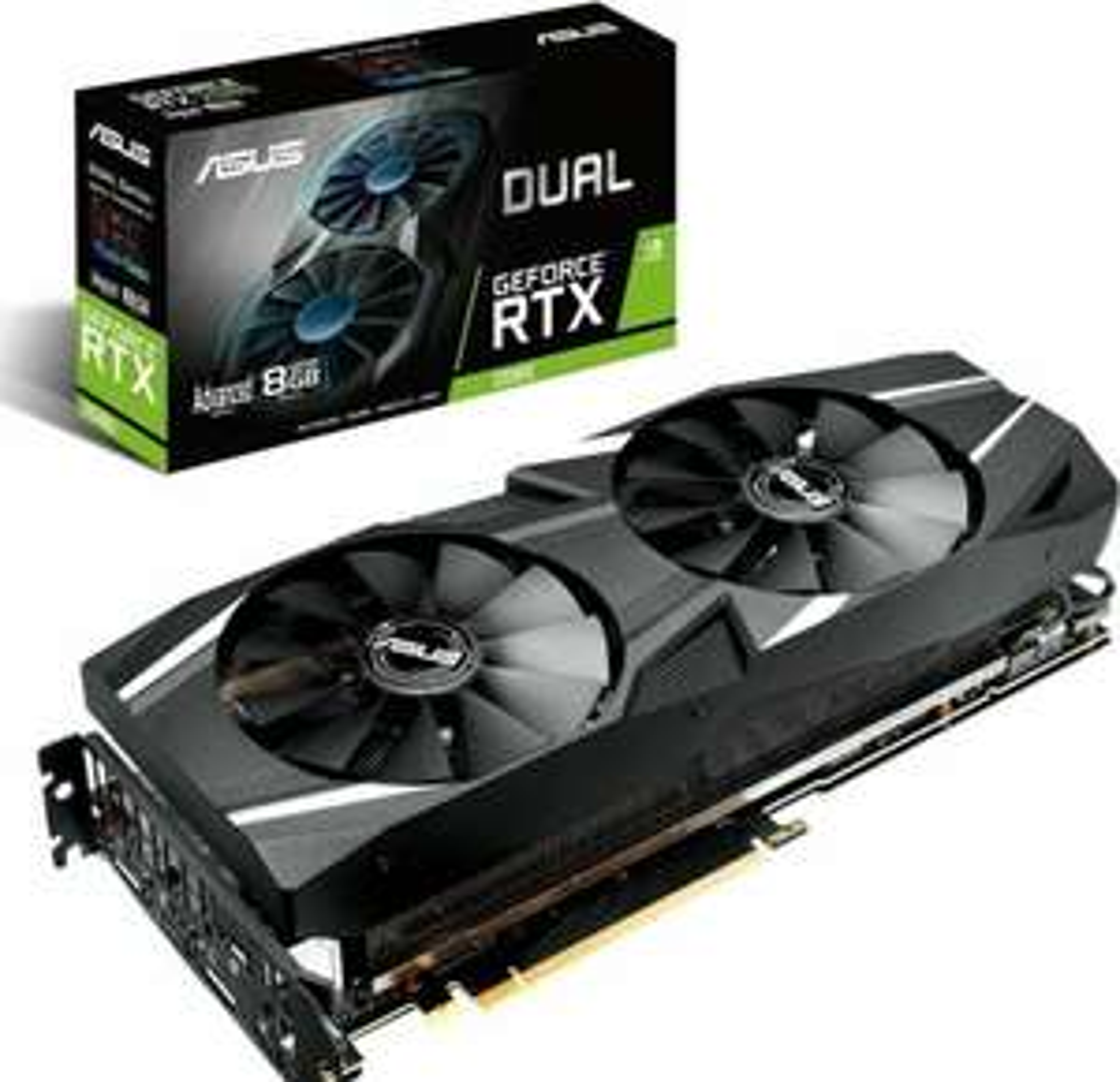 ASUS RTX 2080 DUAL Advanced 8GB (90YV0C32-M0NM00) a-chip