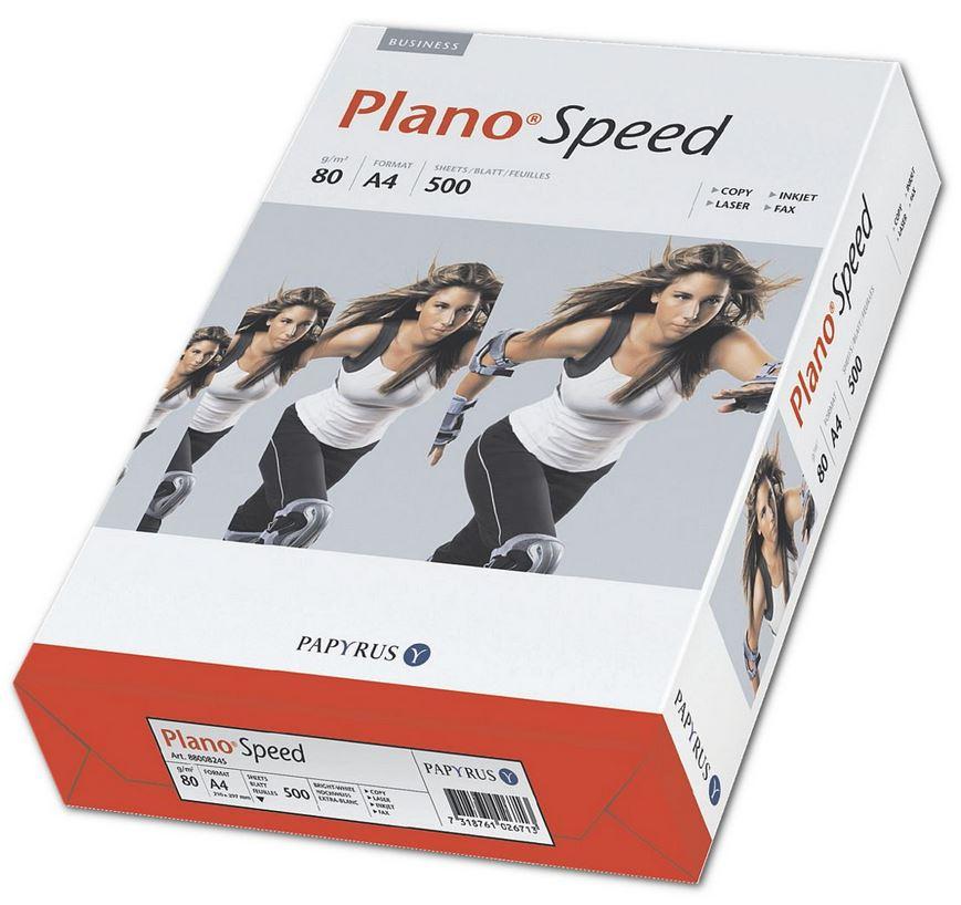 Kopierpapier A4 Plano Speed - 500 Blatt gesamt, 80 g/m² 2,99€ ab 2000 Blatt Versandkostenfrei