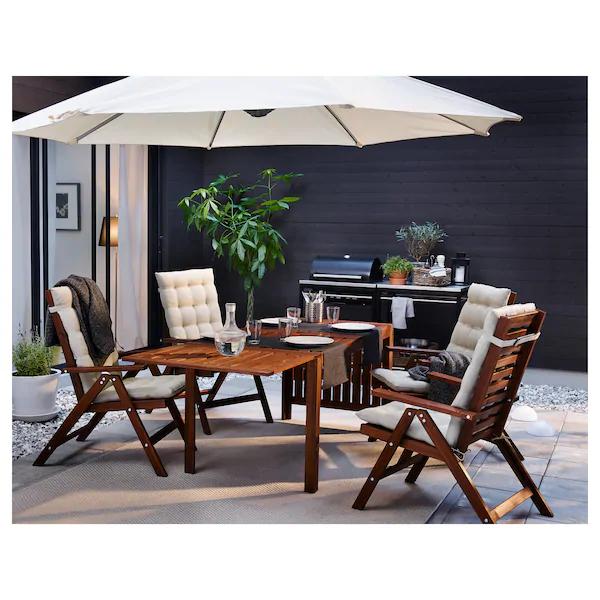 IKEA ÄPPLARÖ - Verschiedene Holzmöbel für draußen (Tische, Stühle, Hocker,..)