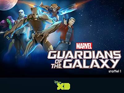 Marvel's Guardians of the Galaxy [dt.] Staffel 1 der Zeichentrickserie in HD für 7,99€ kaufen [Google Play & Amazon Prime]