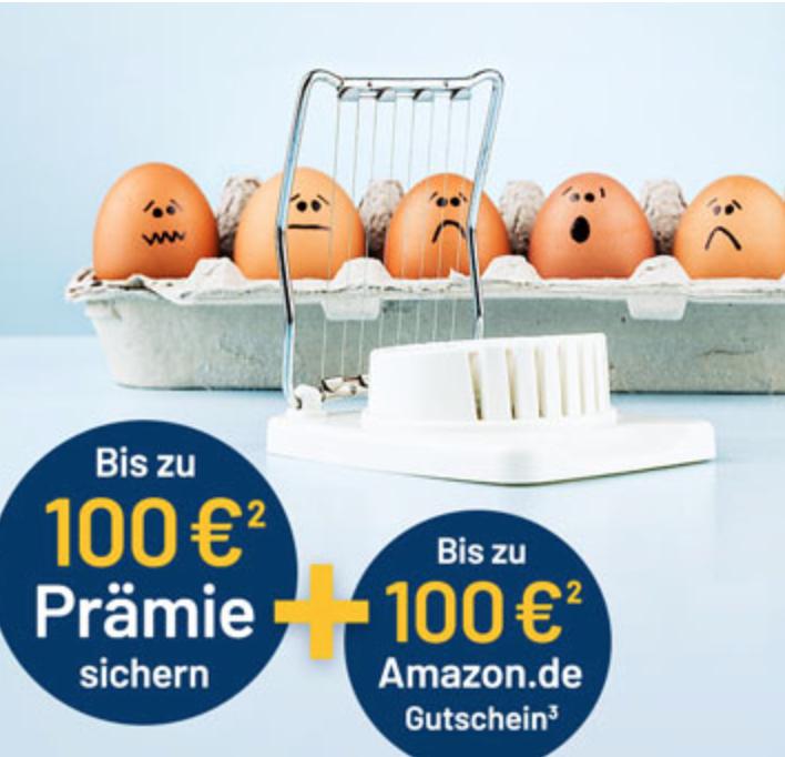 1822direkt: Jetzt doppelt profitieren! Bis zu 100€ Prämie + 100€ Amazon-Gutschein bei Weiterempfehlung