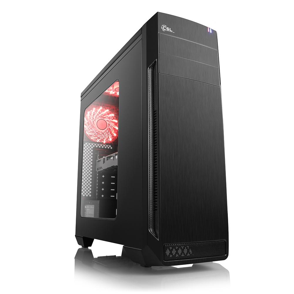Zur Zeit der günstigste Fertig-PC (AMD Ryzen 5 2600) in Preis/Leistung was ich entdecken konnte.