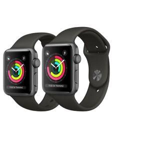 [eBay] Apple Watch Series 3 42mm Aluminium Grau Grey - Zustand: wie neu