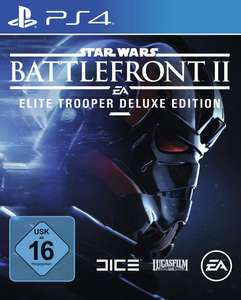 Star Wars: Battlefront II Elite Trooper Deluxe Edition (PS4) für 19,99€ (GameStop)