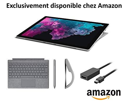 Surface Pro 6 (128 GB) + Signatur Type Cover + Pen + Maus + HDMI-Kabel [Amazon.fr] für 979 €