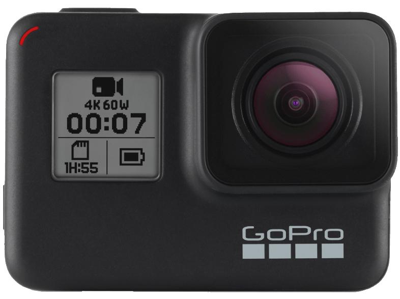 GoPro HERO7 Black – wasserdichte digitale Actionkamera mit Touchscreen, 4K-HD-Videos, 12-MP-Fotos [MediaMarkt Niederlande]
