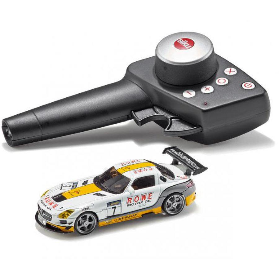 Mercedes-Benz SLS AMG GT3 - SIKU Racing / 4-Gangschaltung / robusten Zinkdruckguss-Karosserie / vollelektronisches Antriebsdifferenzial