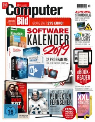 """Jahresabo (26 Ausgaben) """"Computer Bild"""" mit DVD für 126,50€ +130€ Amazon-Gutschein als Prämie"""