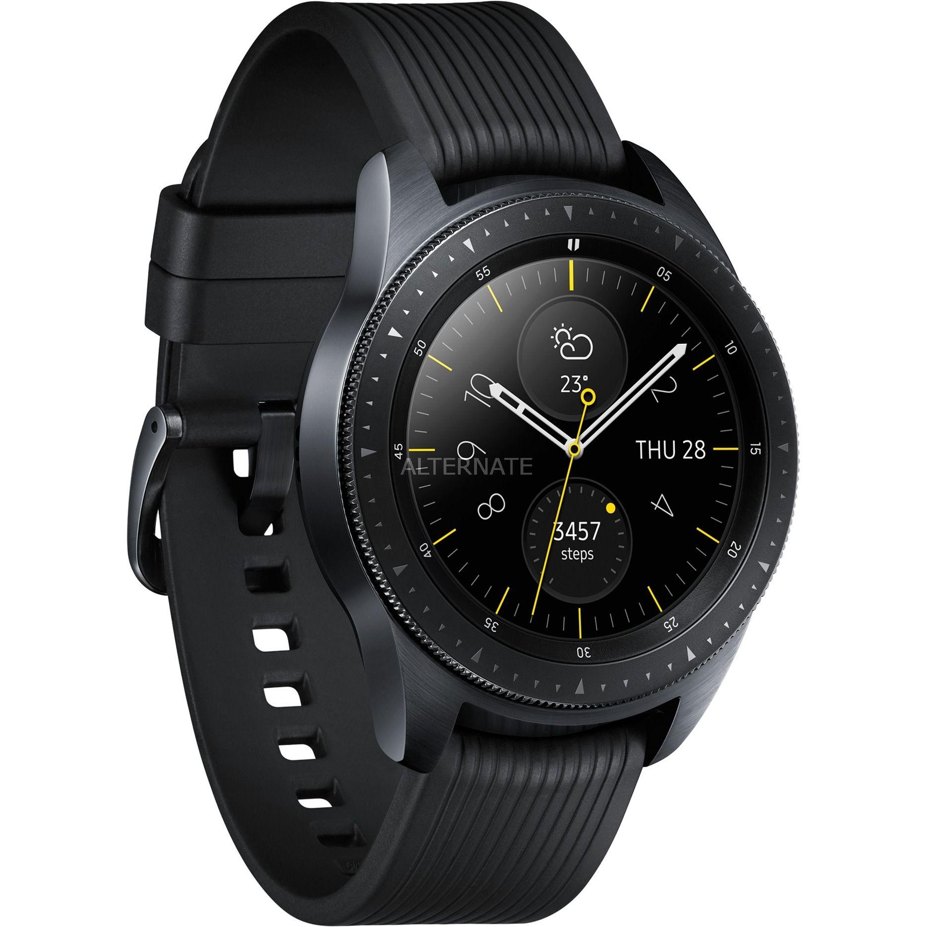 Galaxy Watch 42 mm schwarz mit Paydirekt bei Alternate